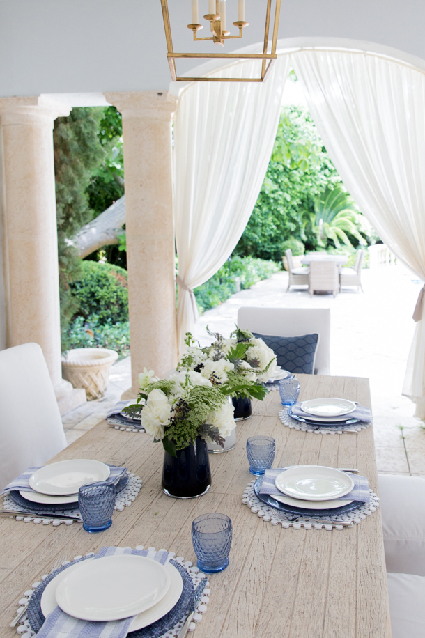 FashionableHostess.com: Patio BBQ with Villeroy & Boch